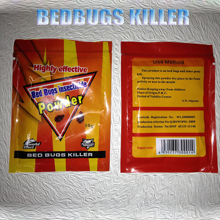 Retails/Wholesale 40 Pieces Powerful Effective Bed Bugs Killer Bait Powder to Kill BedbugsPest Control idea for Home HH16041