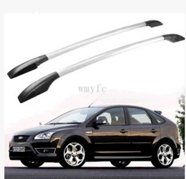 Auto parts Refitting the roof rack of aluminum alloy luggage rack for ford focus hatchback 1.3M Accessories car styling aluminum roof luggage rack for ford focus hatchback 1 3m accessories