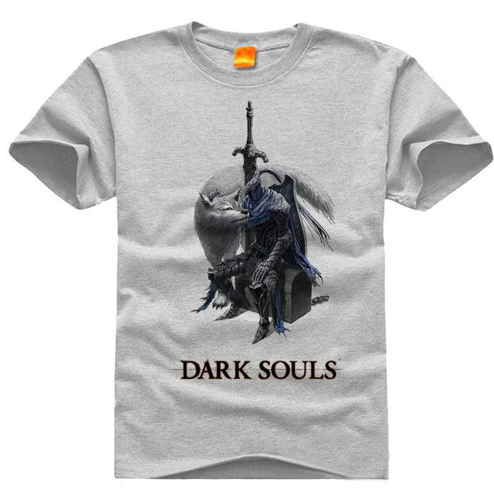 Dark Souls 3 Game O neck Casual t shirts Short Sleeve For ...