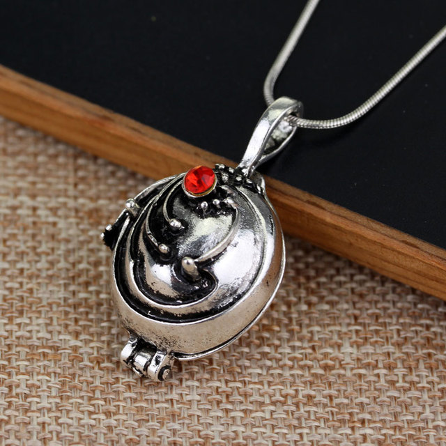 The Vampire Diaries necklace Elena Gilbert vintage vervain verbena pendant jewelry for men and women  Choker Necklace & Pendant
