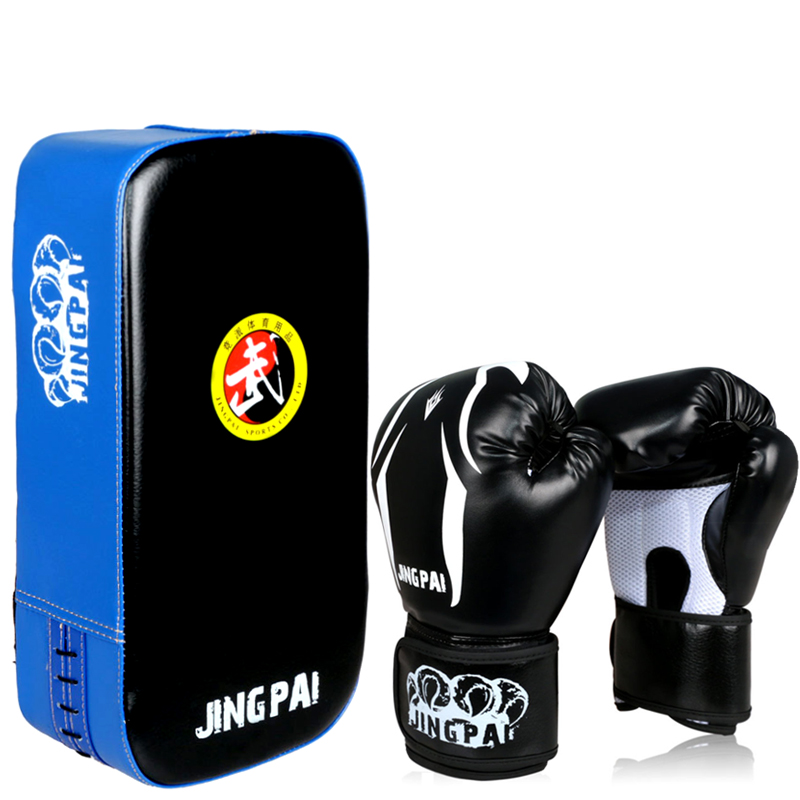 boxing gloves combination suit Parent-child training target hand gloves fists ventilation type gloves takewondo karate target