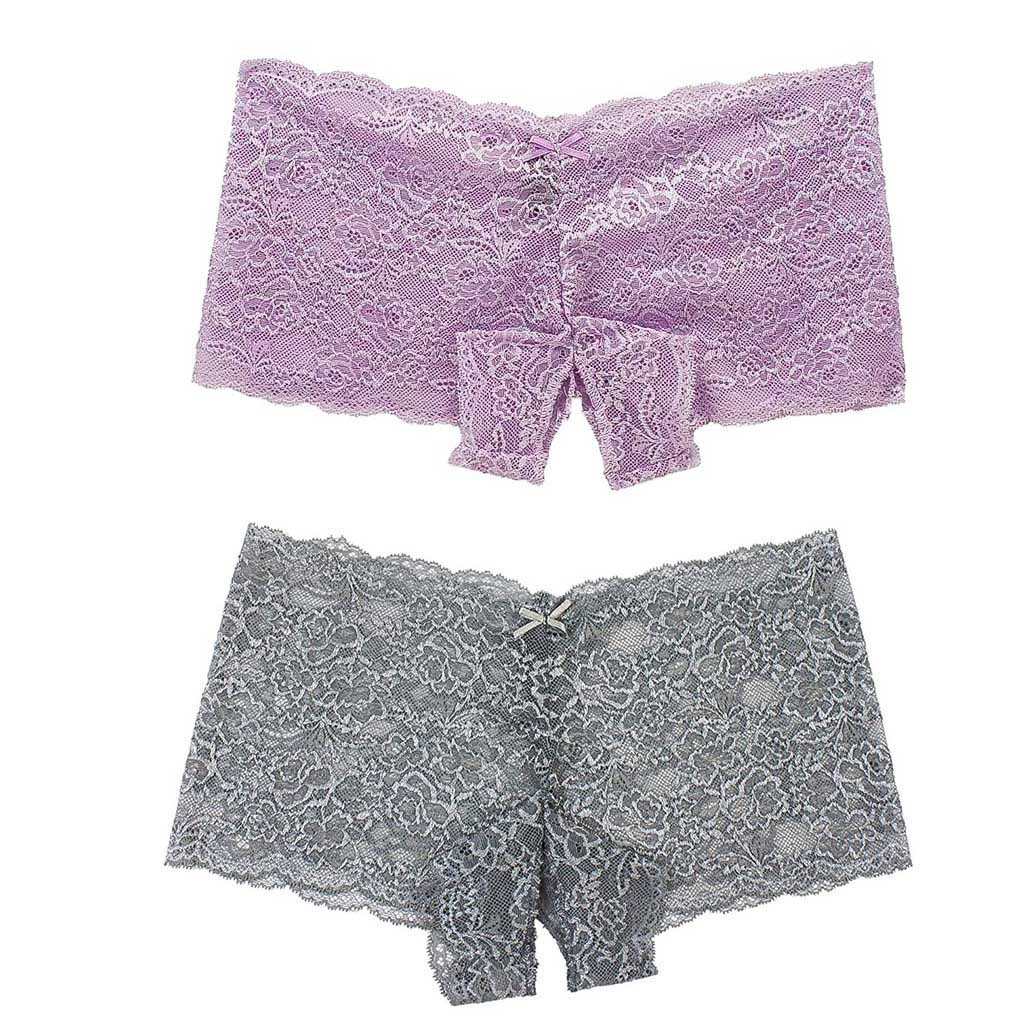 <font><b>2PCs</b></font> New <font><b>Sexy</b></font> <font><b>Women</b></font> <font><b>Lace</b></font> <font><b>Lingerie</b></font> Plus Size Underwear Ladies Open <font><b>Bowknot</b></font> Underpants majtki damskie string <font><b>Sexy</b></font> femme #L5 image