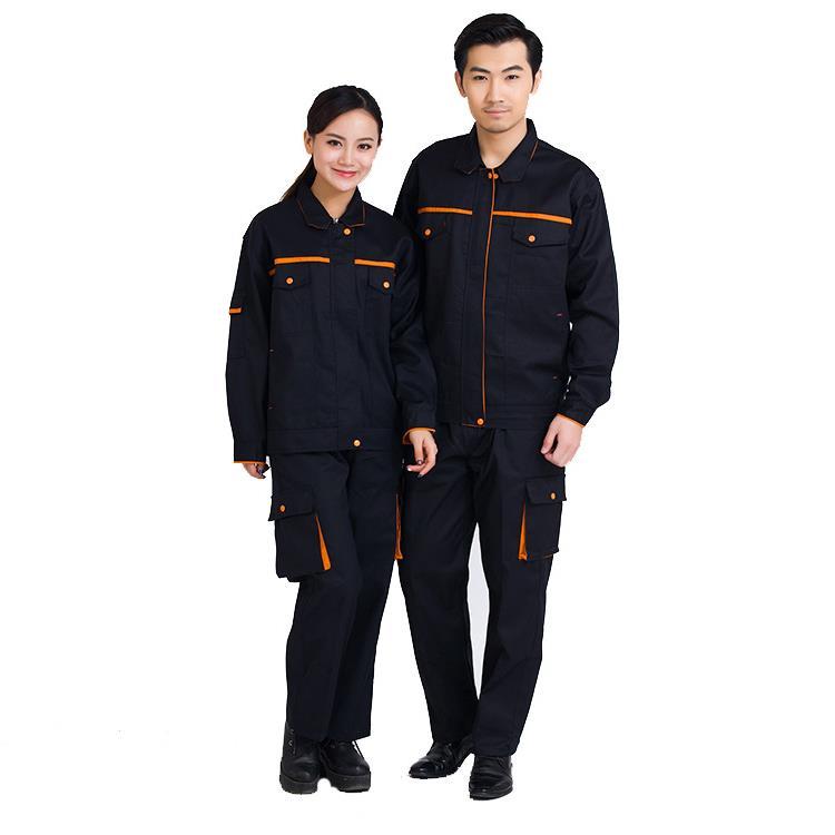 Work Clothing Men Women Uniform Long Sleeve Coveralls Protective Cloth Overalls for Worker Repairman Machine Auto Repair Welding