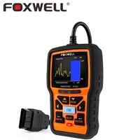 FOXWELL NT301 Profesional Del Coche OBD2 Live Data Escáner Motor Del Sensor de O2 Monitor de prueba de Error de Auto OBD 2 OBDII EOBD Reader Tool Scan