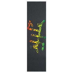 Image 4 - 9*33 zoll Grizzly Läst design Pro Skateboard Griptapes Silicon Hartmetall Skate Grip Band mit Luft Löcher Roller Schleifpapier