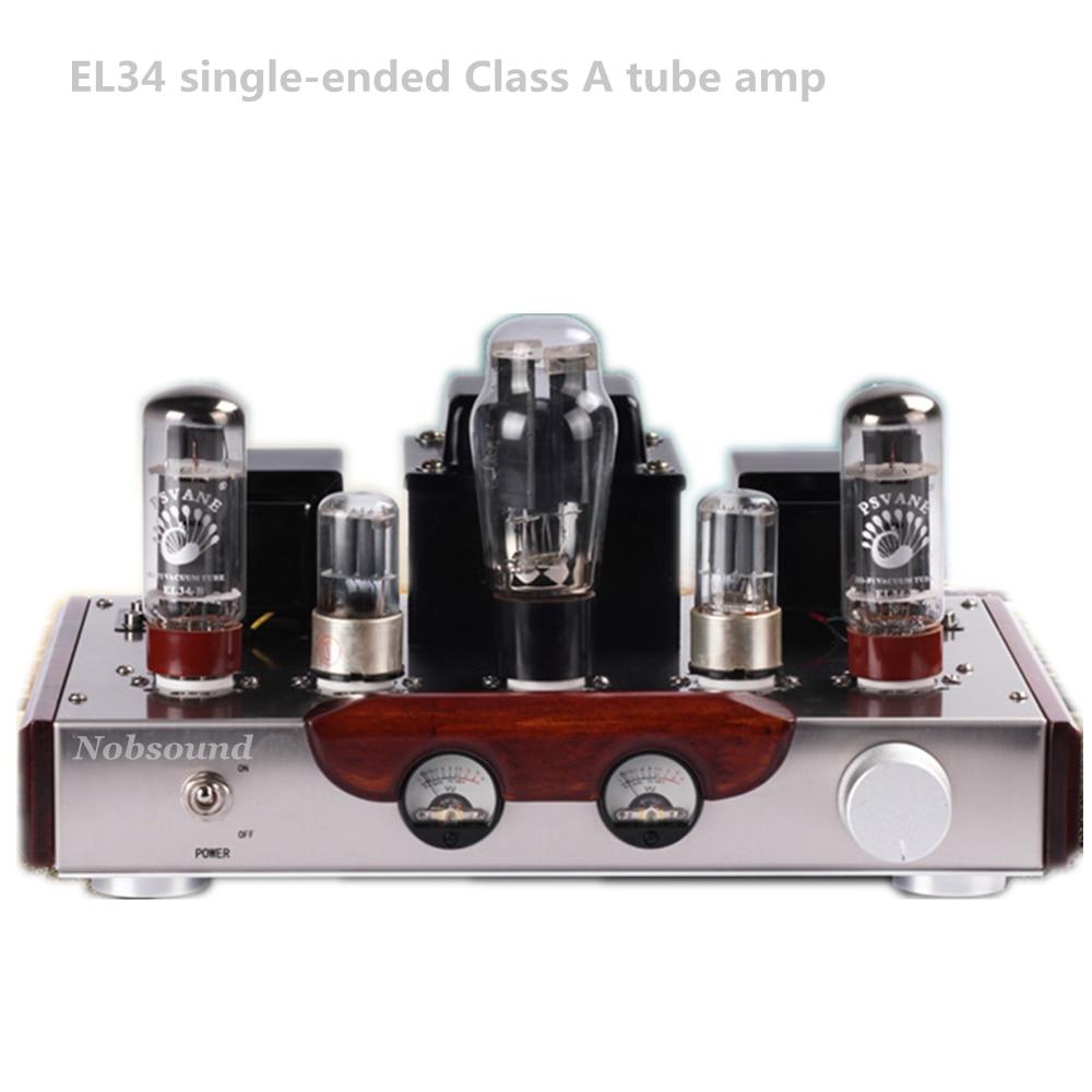 Nobsound Music El34 6n9p Push El34 Vacuum Tube Amplifier