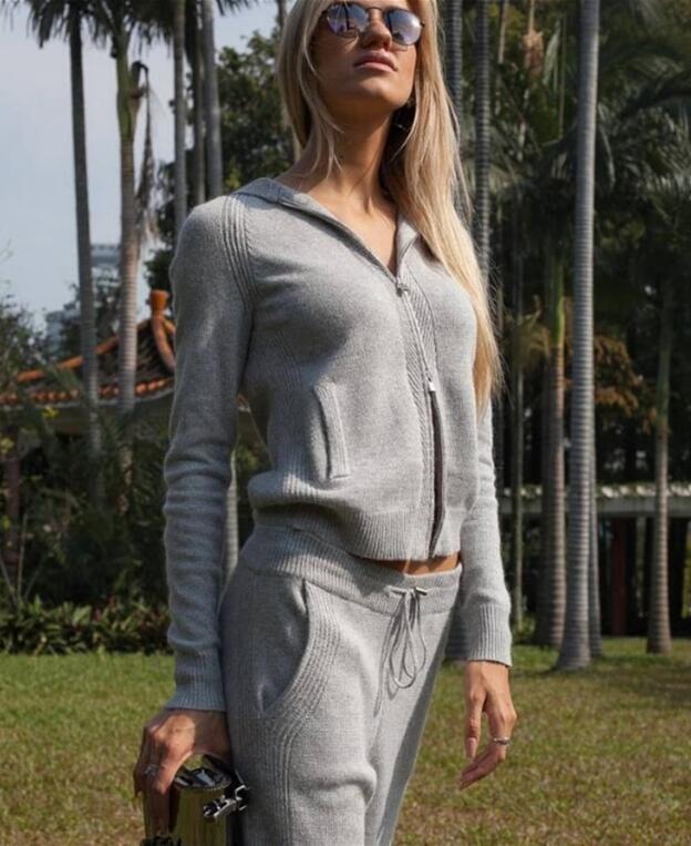 Crop Pièce Casual 2 Patchwork Tops 2 Survêtements À 3 One Capuche Solide Femmes Sexy Skinny Pantalon 1 Rose Ensemble Piece Streetwear twxqEXIv