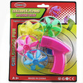 Free shipping 2015 new children's toys gun colorful flying saucer toy guns sq003
