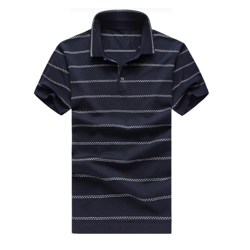 Venta caliente para hombre camisa de polo a rayas verano moda hombre - Ropa de hombre - foto 2
