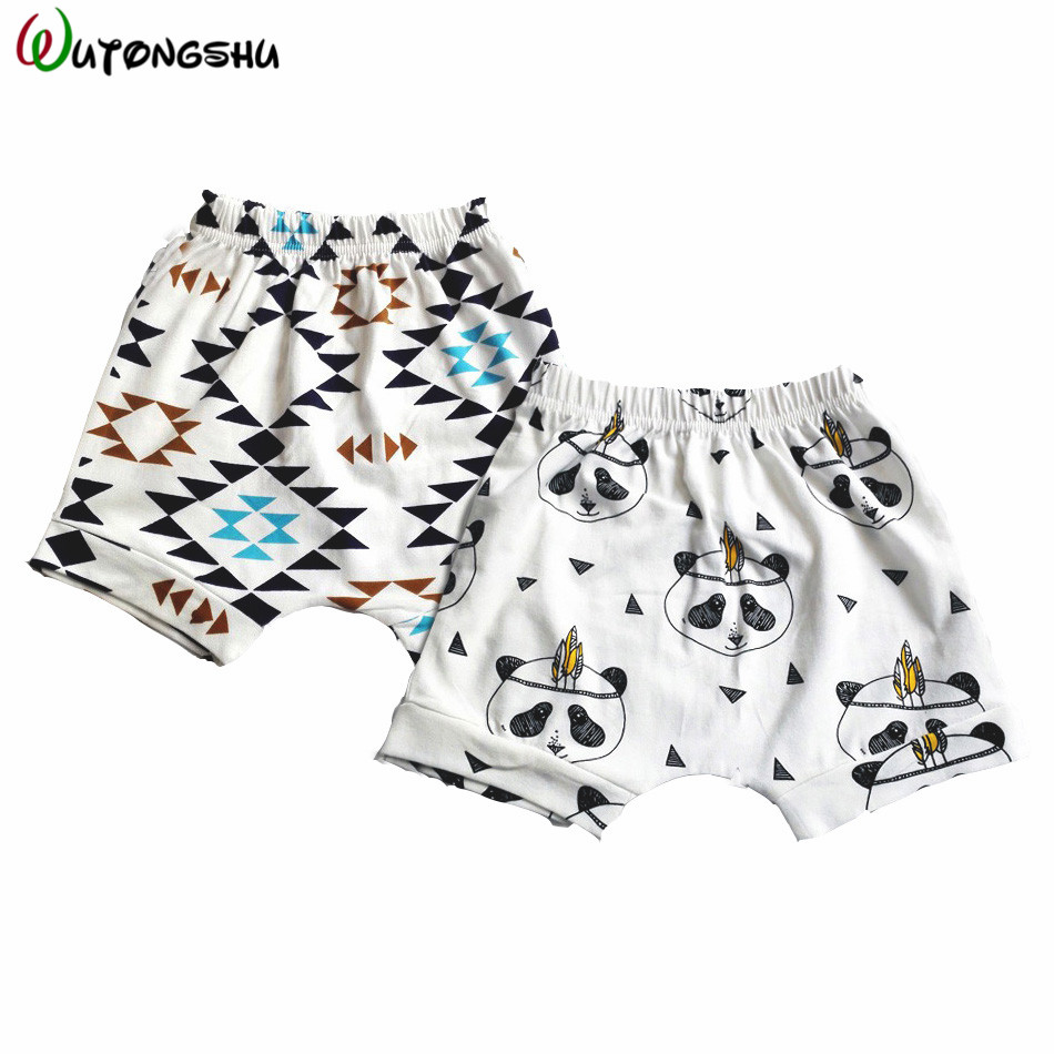 2019 Baby Bloomers Baby Boys Girls Shorts PP Children's Summer Harem Shorts For Boys Toddler Clothing Kids BoBo Beach Shorts