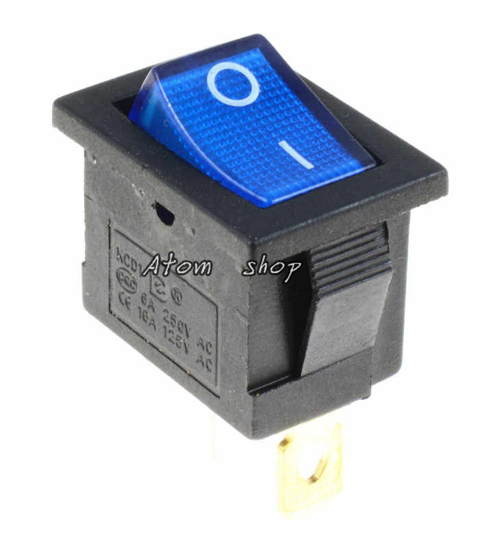 1PCS Auf/Off Rechteck Rocker Schalter Auto Dash KCD1 3P 220v