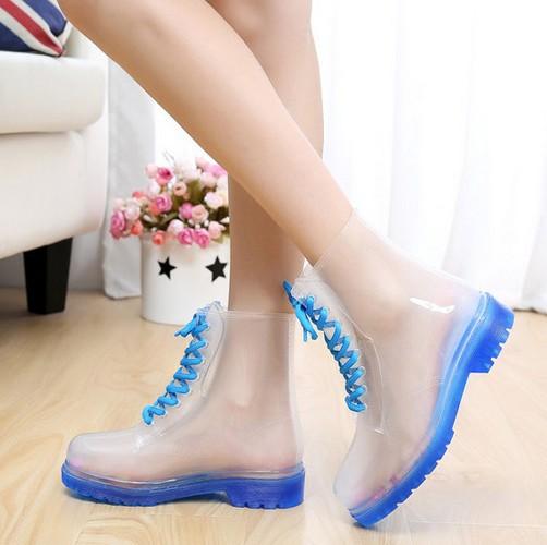 Online Shop children rain boots kids jelly water shoes unti-slip ...