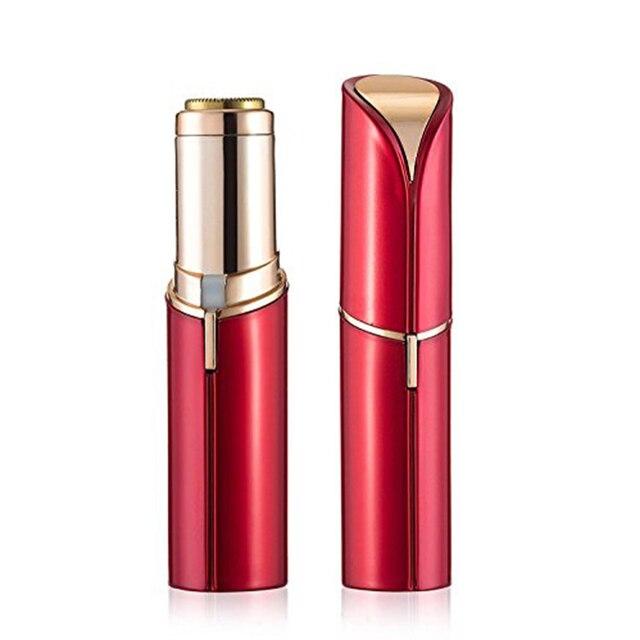 Mini Electric Razor Epilator Women's Painless Hair Remove Lipstick Shape Facial Body  Remover for Lady Shaving Tool