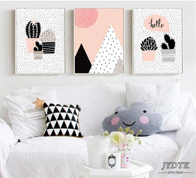 Art Déco Peinture Décoré Avec Des Peintures Murales Sans Cadre Toile