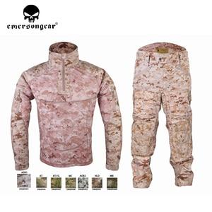 Image 5 - Emersongear męski strój kamuflażowy Tactical Sportwear wojskowy dres bojowy jesień i zima długi rękaw męskie garnitury sportowe