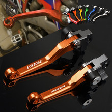 For KTM 350EXC-F 350EXCF 350 EXC-F EXCF 2011-2013 2014-2018 2017 Motocross CNC Pivot Brake Clutch Levers Dirt Bike Motorcycle clutch cover protection cover water pump cover protector for ktm 350 exc f excf 2012 2013 2014 2015 2016