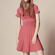 2018 Spring Knitted Dress Ladies Hot Party Dresses