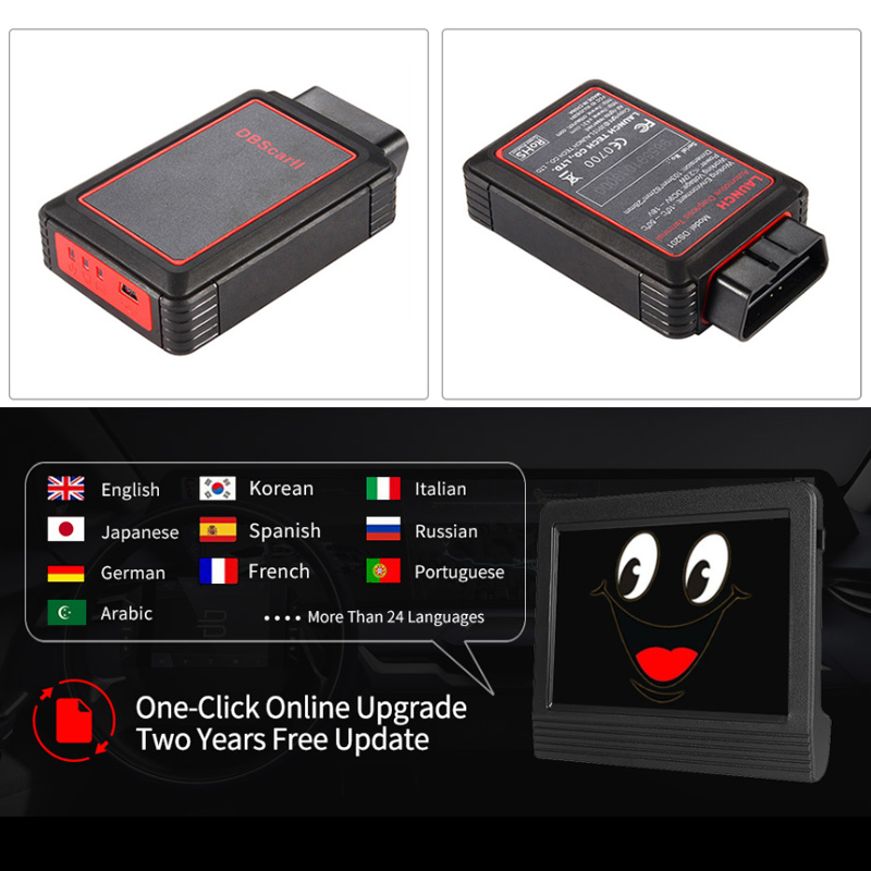 Image 2 - Launch X431 V+ V Plus X431 Diagnostic Auto Scanner Full System OBD2 OBDII Diagnostics Tool Wifi Bluetooth 2 Years Free Update-in Engine Analyzer from Automobiles & Motorcycles