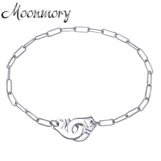 France Famous Jewelry Dinh Van Handcuff Bracelet For Women 925 Sterling Silver Chain Link Bracelet Menottes Pulseira Feminina