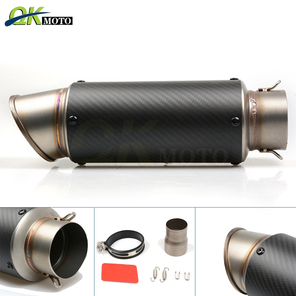 Universal Motorcycle Modified Exhaust Pipe Motor Exahust For Harley DUCATI Monster 750 City Dark Monster 796 ST4S ST3 MonsterS4Universal Motorcycle Modified Exhaust Pipe Motor Exahust For Harley DUCATI Monster 750 City Dark Monster 796 ST4S ST3 MonsterS4