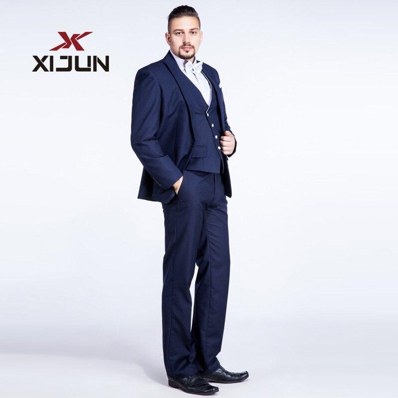 Normali Cerimonia Nuziale Pezzo Pantaloni jacket Blu La Per Set ax5fZqpwq