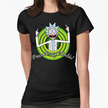 Rick And Morty T-shirt For Men Women %100Cotton