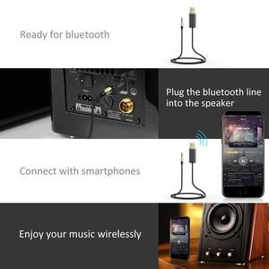 Image 5 - Bluedio BL Bluetooth receptor de audio y música 3,5mm audio estéreo Cable adaptador Bluetooth para altavoz auriculares