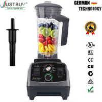 BPA Libero del Grado Commerciale Timer Blender Mixer Heavy Duty Automatico di Frutta Spremiagrumi Robot da Cucina Frantoio di Ghiaccio Frullati 2200W