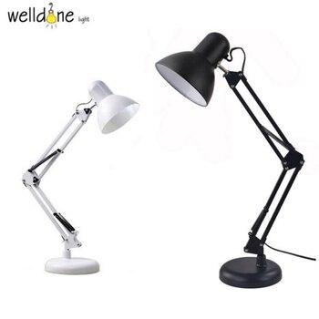 Переносная светодиодная Складная перезаряжаемая для учебы, настольная лампа для чтения, светодиодный светильник для чтения