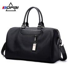 f4bf316e4b BOPAI Men Travel Bag Organizer Short Distance Business Travel Men Bags  Black Unisex Ladies Travel Shoulder Bags Cool Weekend Bag