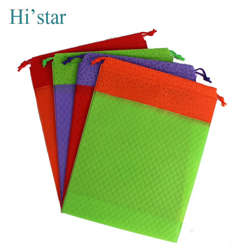 20 Pieces Bag Wholesale Eco Reusable Shopping Bags Cloth Fabric Grocery Packing Recyclable Hight Healthy Tote Handbag
