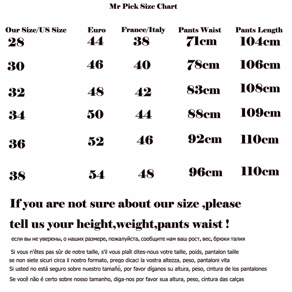 size jean