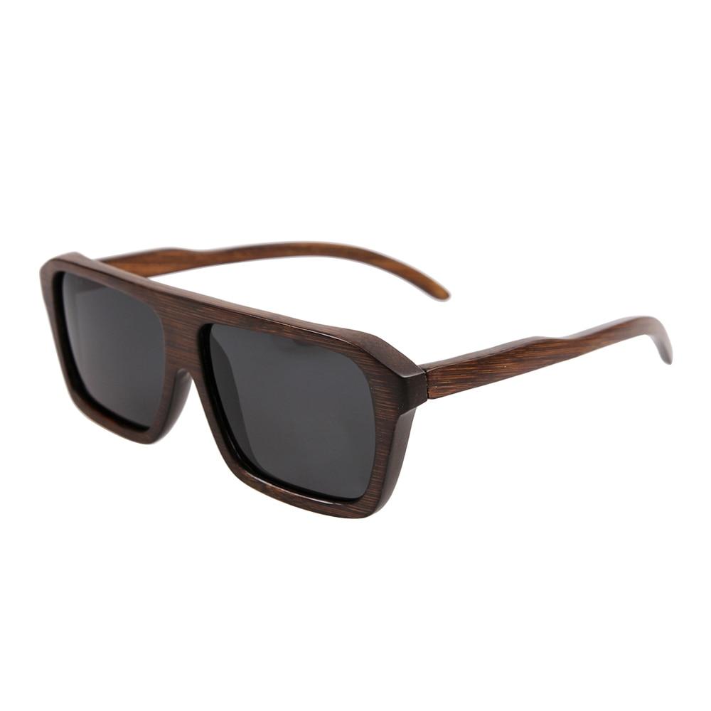 BerWer heiße verkaufenbambussonnenbrille polarisierte Sonnenbrille-Holzsonnenbrille Mischende Farben nehmen Dropshipping an