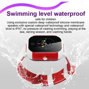 Image 2 - KGG KG23 Smart Children Watch Waterproof Baby SIM Card Touch Screen GPS WIFI SOS Tracker Kids Alarm Clock Anti Lost Smartwatch