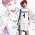 Anime Kuroko no Basuke Akashi Seijuro RAKUZAN uniformes ropa de baloncesto de La Escuela unisex Deporte cosplay emboitement