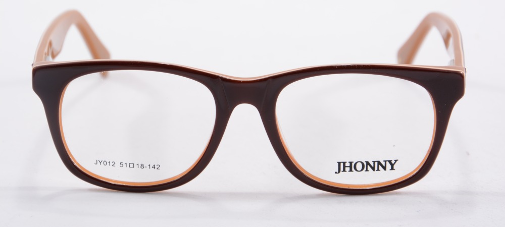 high quality brown glasses frame square women men big frame optical glass eyewear jy012china