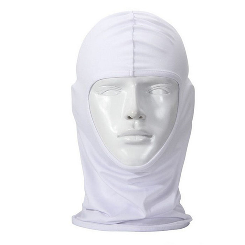 New Classic Lycra Ski Face Mask Bike Bicycle CS Sports Football Mask Balaclava Headband headgear halloween face mask #2a (10)
