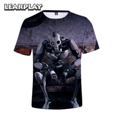 Love Death Robots 3D Print T-Shirt 2019 Fashion Men Women Adults Short Sleeve O-Neck Tee Shirt Casual Summer Tops Hip Hop Outfit поло print bar robots