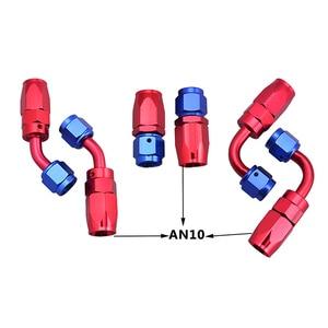 Image 5 - Тройной шланг SPEEDWOW, нейлоновая оплетка из нержавеющей стали, диаметр 3 м, ан10 10, комплект адаптеров для шлангов для масла, топлива, воды