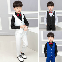 2019 new boys suit children childrens clothing  clothes Fashion boy Cotton kids ALI 309