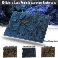 60X45X5cm 3D Aquarium Embossing Fish Background Plate Safe Decor Fish Tank Aquarium Decorative Boards Wall Aquatic Supplies