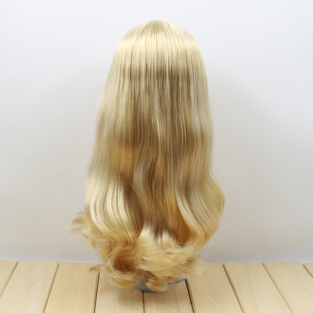 Factory Neo Blythe Doll Light Golden Wavy Hair Regular Body 30cm