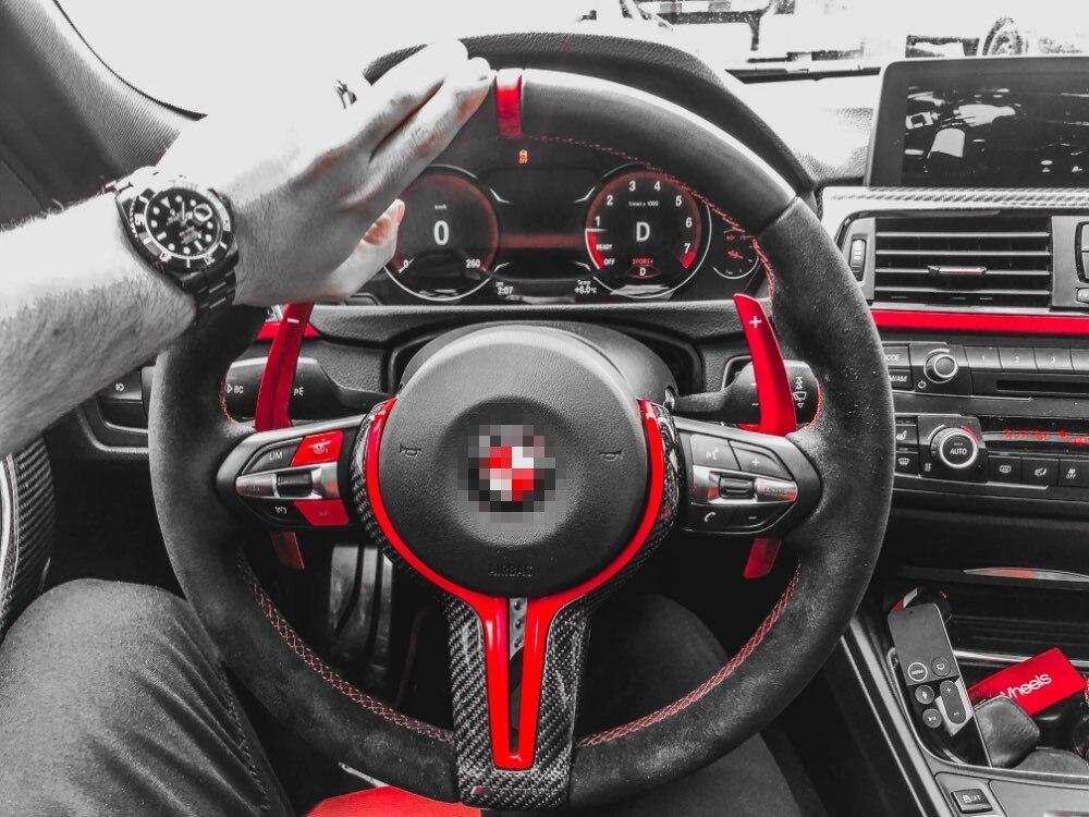 Volant de voiture Pagaie Prolonger manette de vitesse de Rechange Pour BMW F20 F22 F31 F34 F35 F30 F32 F10 F18 F11 F07 F12 F02 F15 F16 F25 F26