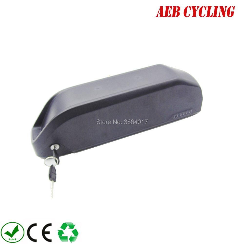 High power polly down tube battery pack 52V 16.5Ah Lithium ion 52V high voltage electric bike battery for fat tire bike