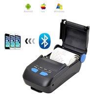 100% original Bluetooth + USB portable Mobile receipt printer 58mm Thermal Receipt Pirnter POS printer Low Noise Mini Printer