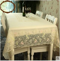 PASAYIONE Europen PVC Tablecloth Waterproof Oilproof Plastic Table Cover Tea Dining Table Mat For Banquet Party Toalha De Mesa