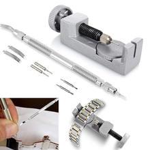 A Set of exchange Chain Watch Tools Spring Bar Pin Band Link Remover Change Strap Repair Kits saat tamir aletleri