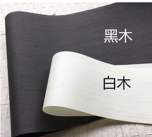 3Pieces/Lot L:2.5Meters  Width:55cm Thickness:0.25mm Ink black Wood Veneer Model Decorative Veneer|Furniture Accessories| |  - title=