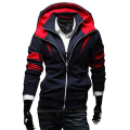2015 Hot Sale Casual Good Quality Mens Hoodies Fleece Color Fake Two Coats For Men