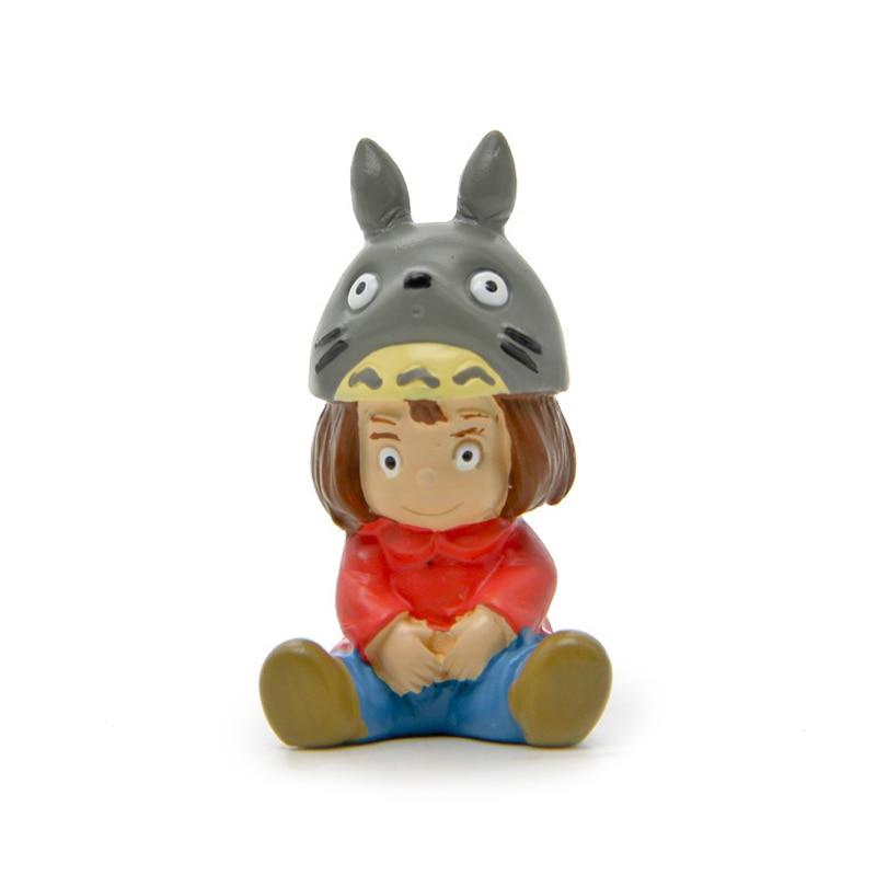 10pcs/lot DIY Mei Cosplay Totoro PVC Action Figure Studio Ghibli Miyazaki Anime My Neighbor Totoro Figures Collection Model Toys коврик для ванной xin tong mei dtxy 1 pvc